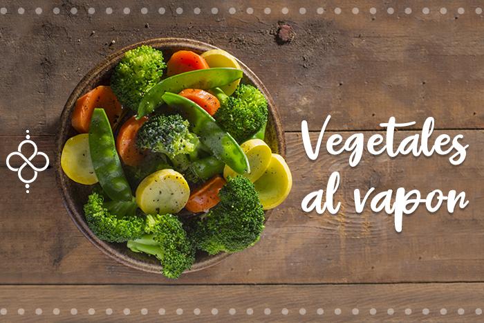 Cómo cocinar verduras al vapor, sin vaporera