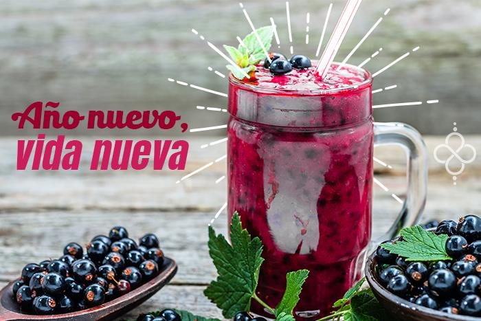 Especial Año Nuevo: Jugo detox de frutos rojos
