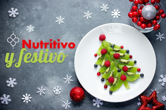 Menú nutritivo para las fiestas navideñas