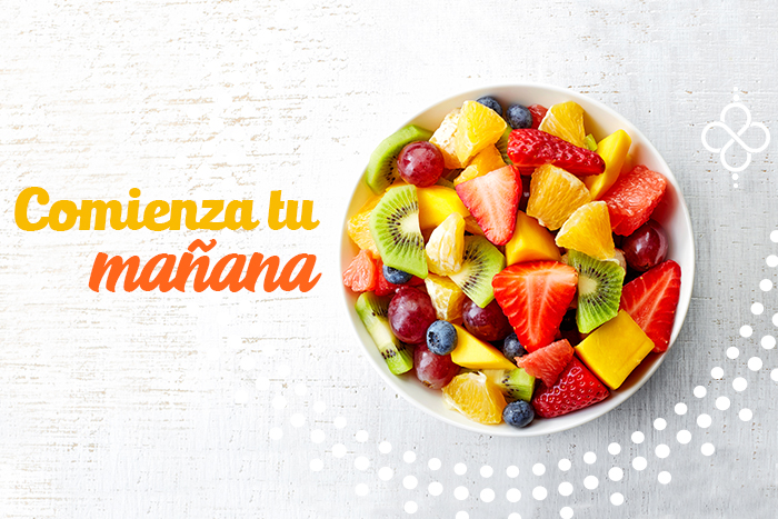 frutas para desayunar