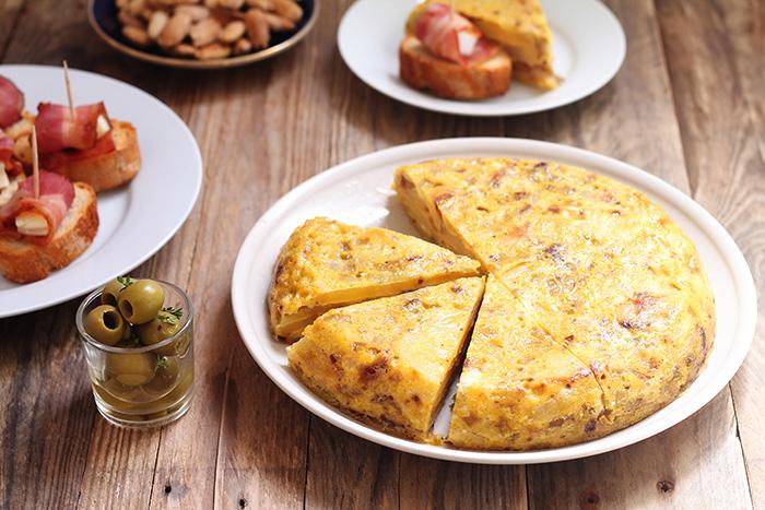 tortilla de papas tortilla española