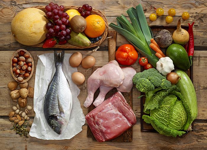 dieta paleo comida